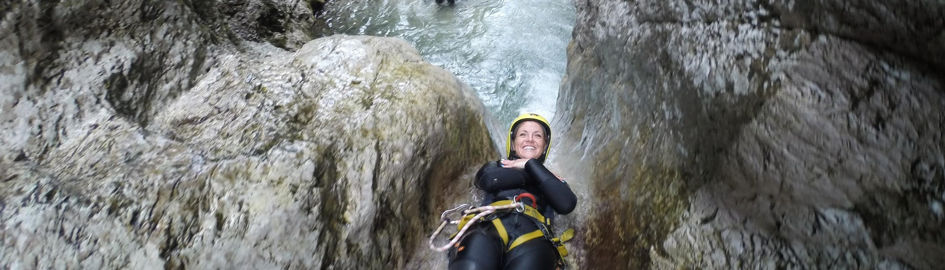 "Canyoning ""Standard"" for Groups (from 8 people) - Sušec"