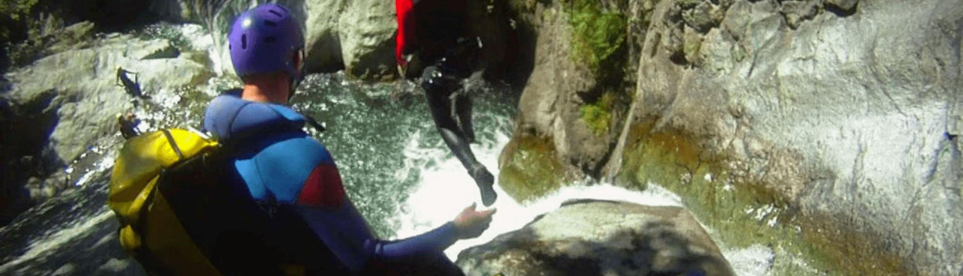 """Canyoning """"Aventure Italie"""" - Caprie"""