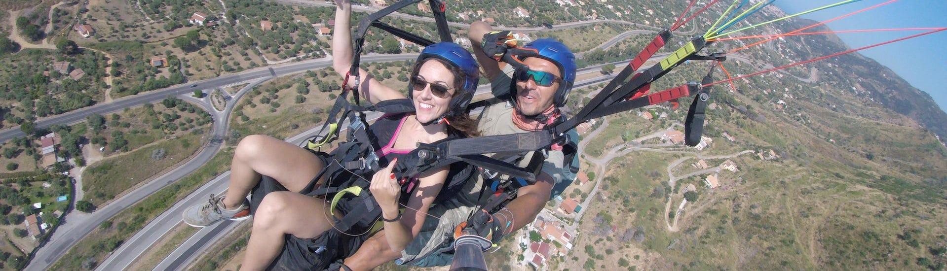 "Tandem Paragliding ""Classic""- Cefalù"