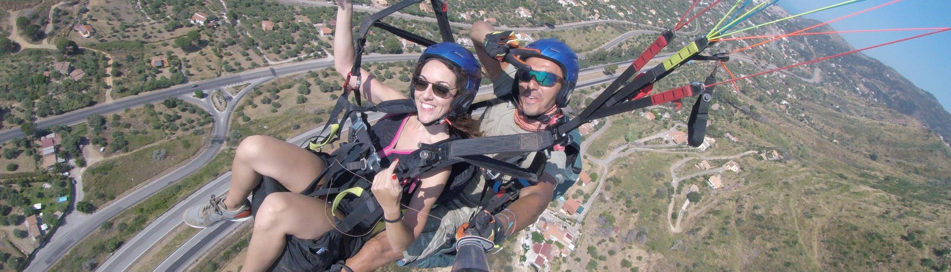 Tandem Paragliding in Cefalù - Classic with Sicily Paragliding - Hero image