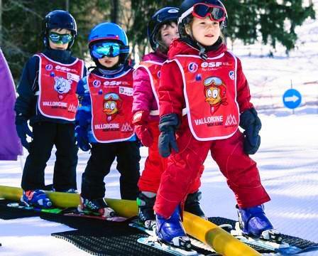 Cours de ski Enfants (3-8 ans) à Vallorcine/La Poya