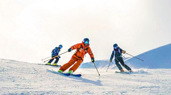 Cours de ski Ados (13-17 ans) pour Tous niveaux à Vallorcine