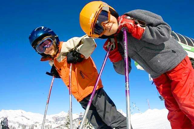 Cours de ski Enfants (6-12ans) aux Grands Montets -Déjà skié