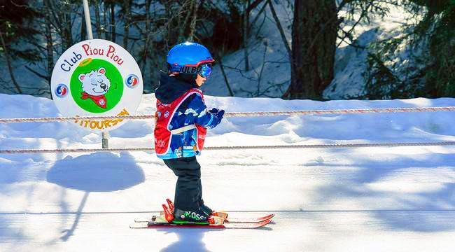 Cours particulier de ski Enfants - Haute saison