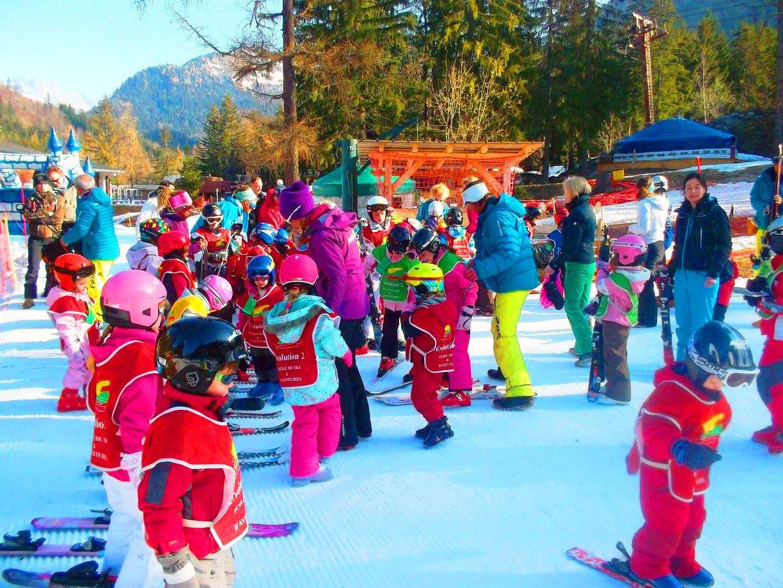 Cours de ski Enfants (3-5 ans) aux Grands Montets