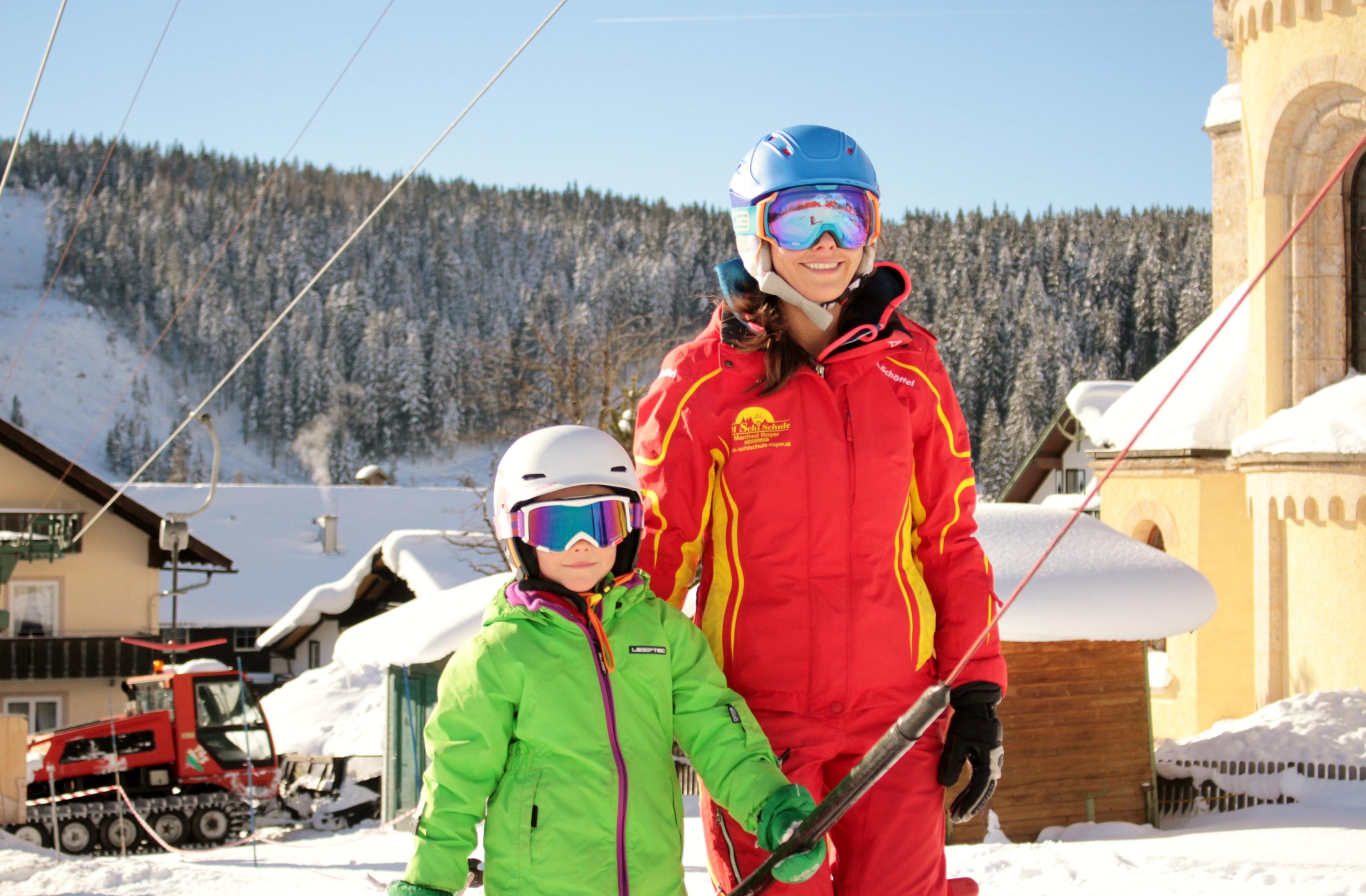 Privé skilessen voor kinderen - licht gevorderd