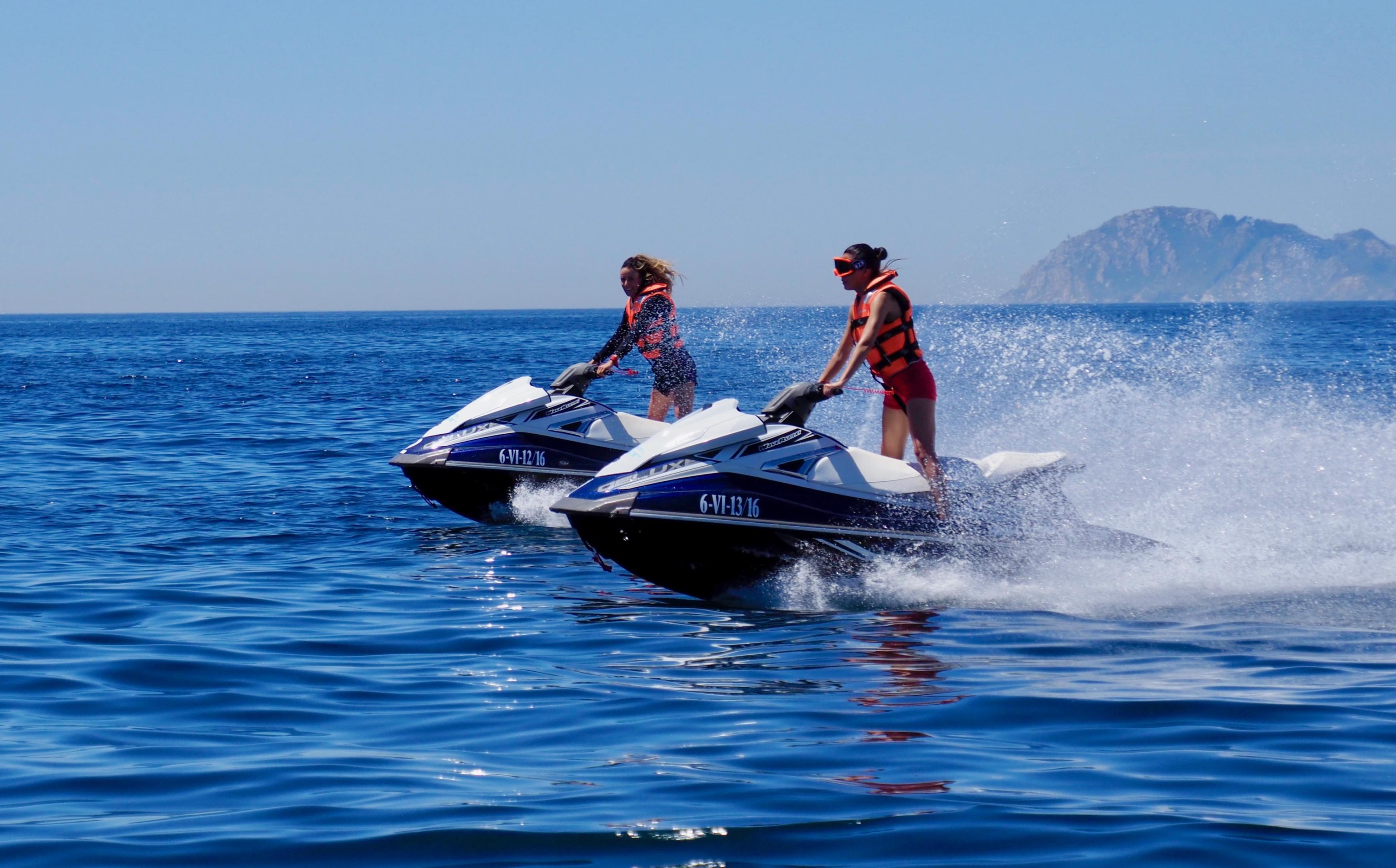 """Jet Ski Tour """"Cíes Islands"""" - Vigo"""