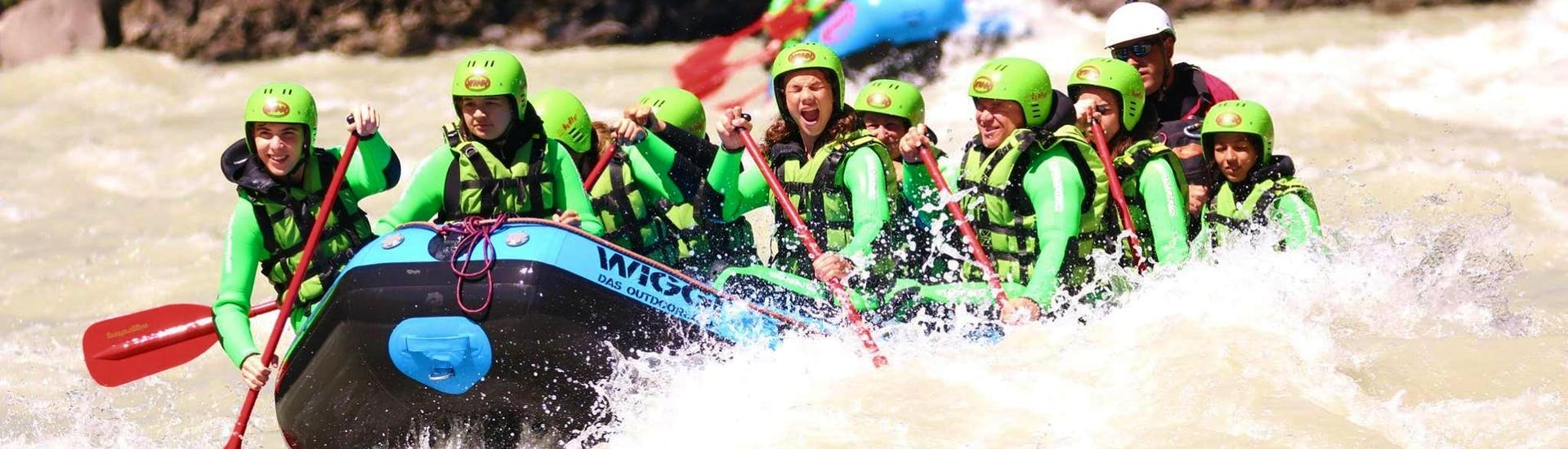 Classic Rafting in the Imster Schlucht