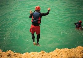 Canyoning sportif à Albufeira - Praia de São Rafael