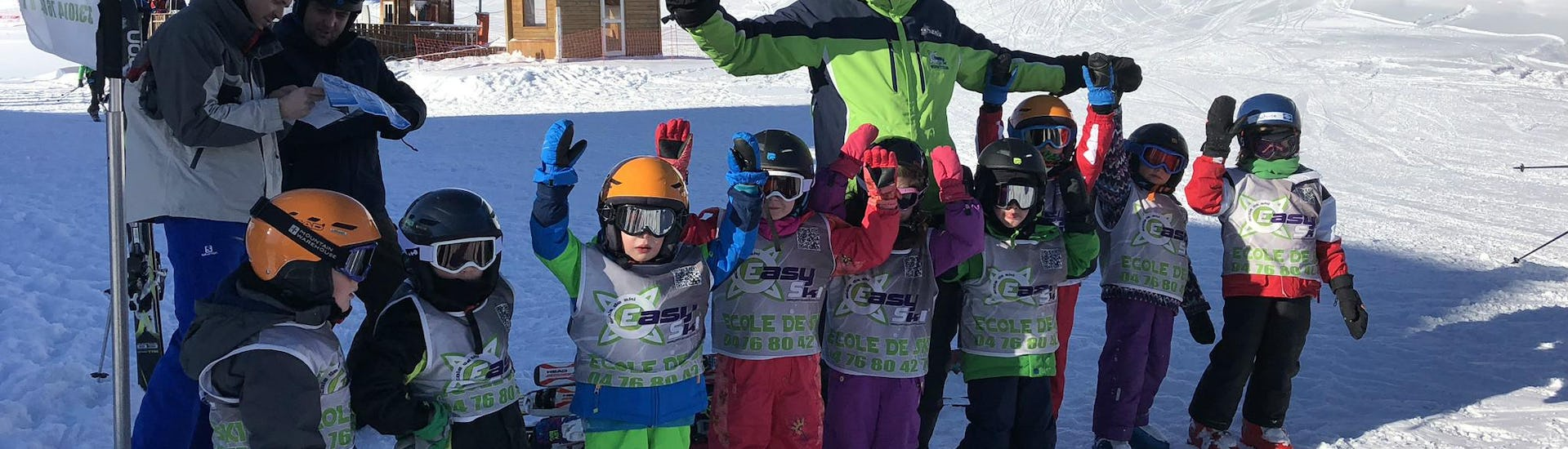 Kids Ski Lessons (4-12 years) - Holiday - Afternoon