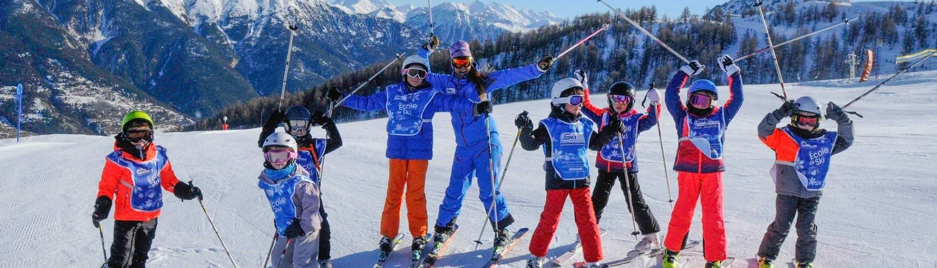 Ski Lessons for Kids (5-12 y.) - Incl. Equipment - Advanced
