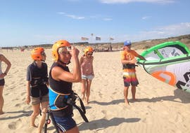 Kitesurfing Lessons for Adults and Children - Beginners