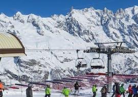 Moniteur de Ski Privé Matin pour Adultes/Enfants