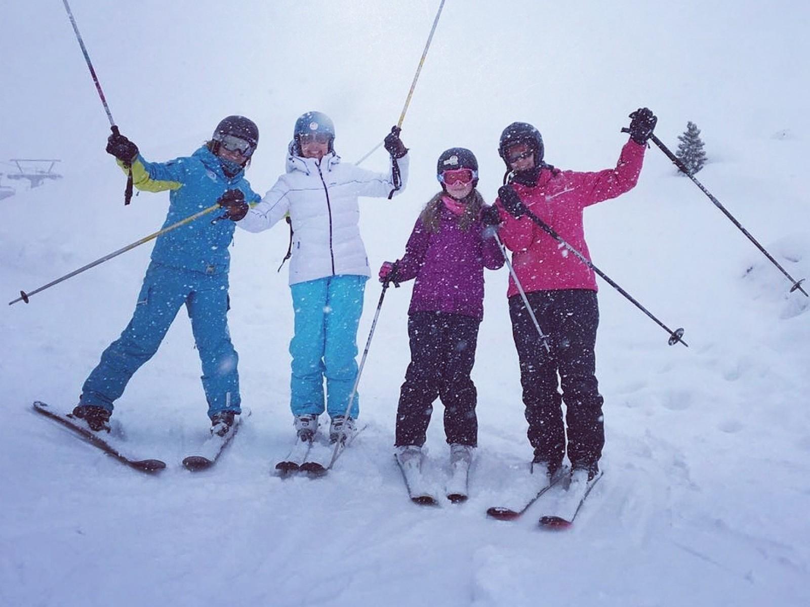 Cours particulier de ski en Famille