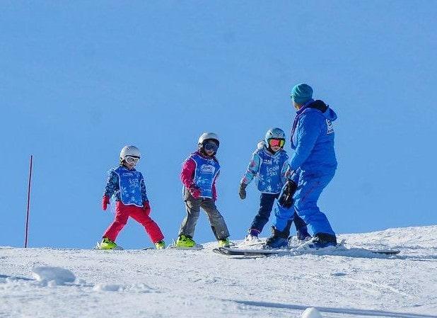 Cours particulier de ski Enfants - Février