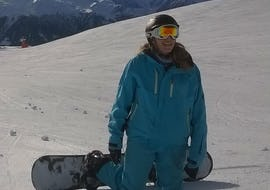 Snowboard Lessons Teens & Adults - Siviez - All Levels