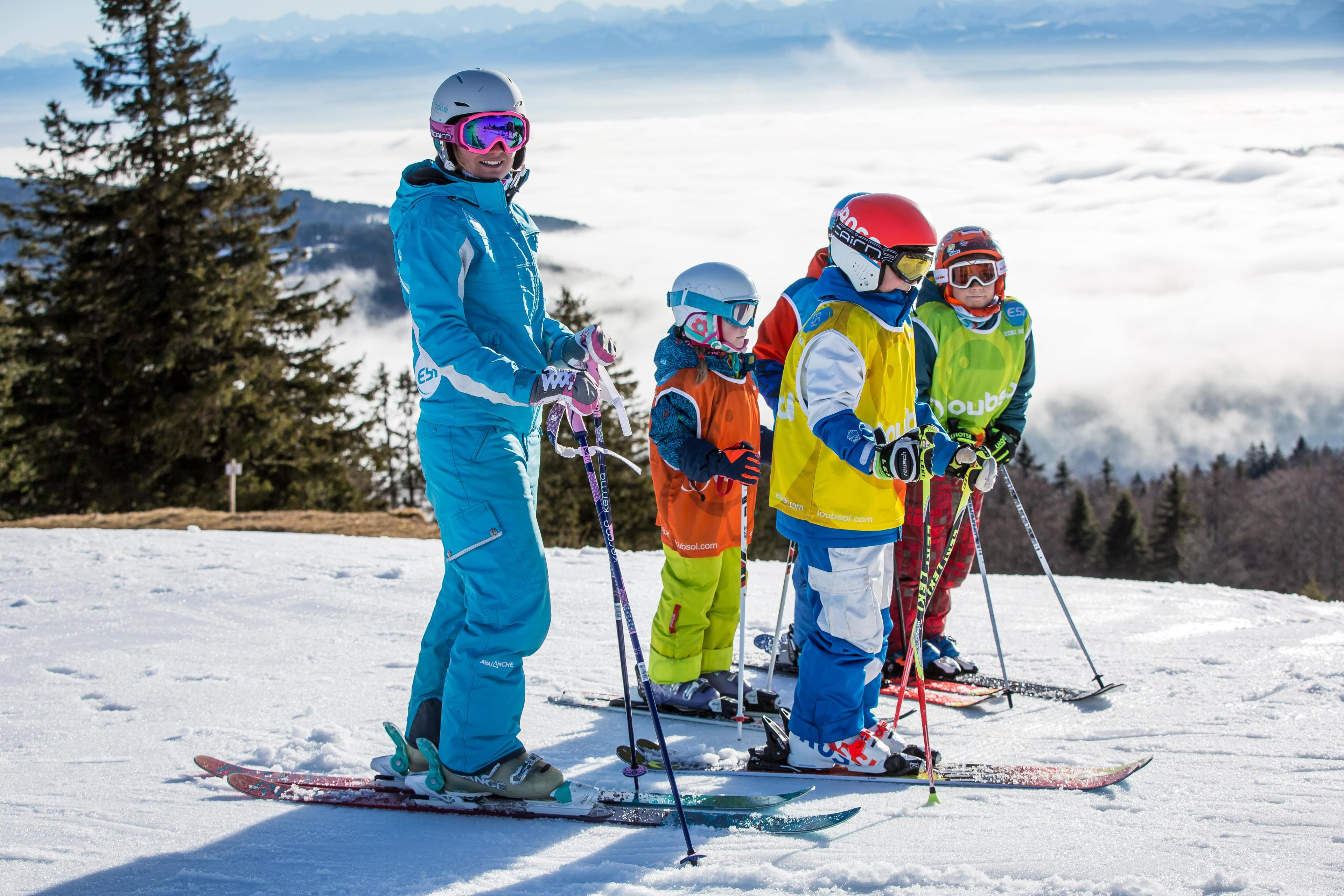 Cours de ski Enfants (4-13 ans) - Février - Matin