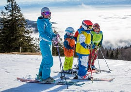 Kids Ski Lessons (4-13y) - Holiday - Morning - Non 1st Timer