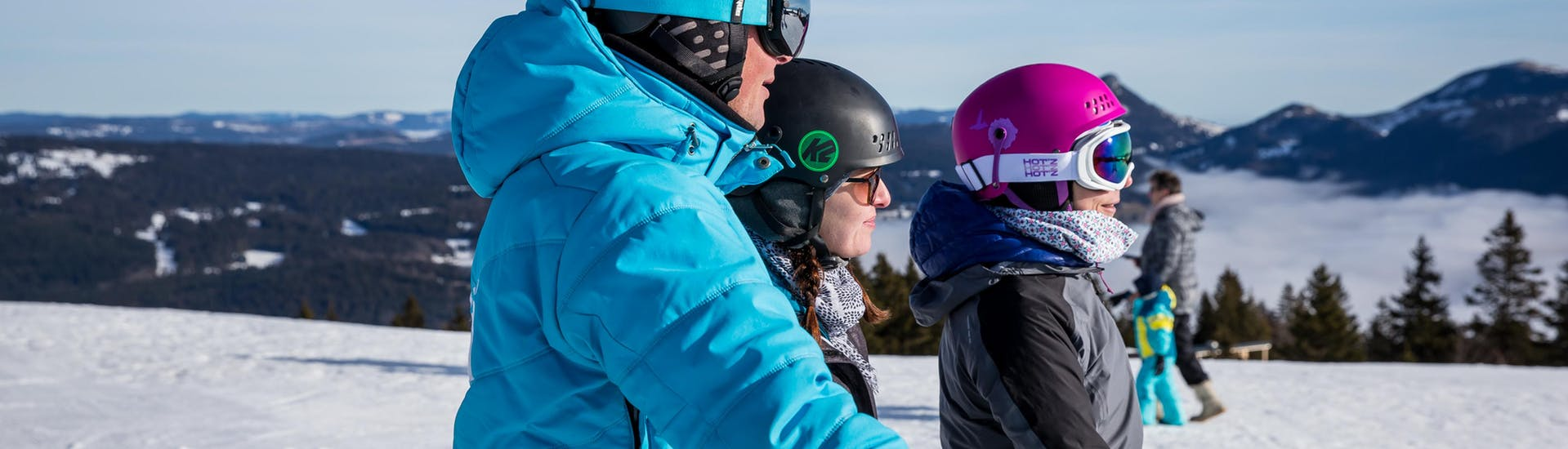 Cours de ski Ados (13-15 ans) - Vacances - A.-midi - Arc1800