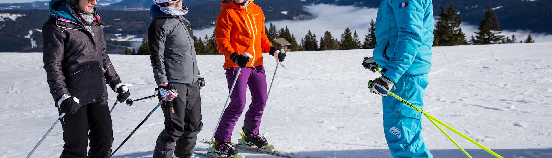 Ski Lessons for Adults - Up to Intermediate - Arc 1800