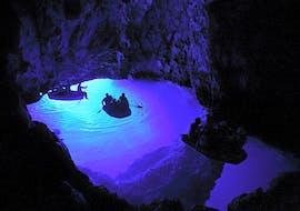 Boat Tour to Blue and Green Cave from Hvar