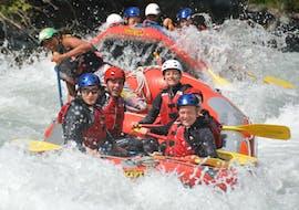 Rafting through Scuol Gorge on the Inn River
