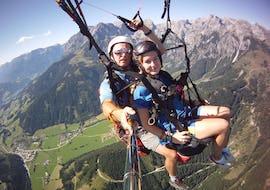 Tandem Paragliding in Werfenweng from Bischling