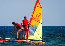 Windsurfing Lessons for Kids & Adults - First Timer
