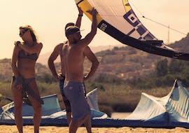 Cours privé de kitesurf à Posada (dès 9 ans)