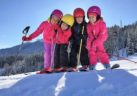 "Ski Lessons ""Half Day"" for Kids (from 4 years) - Beginner"