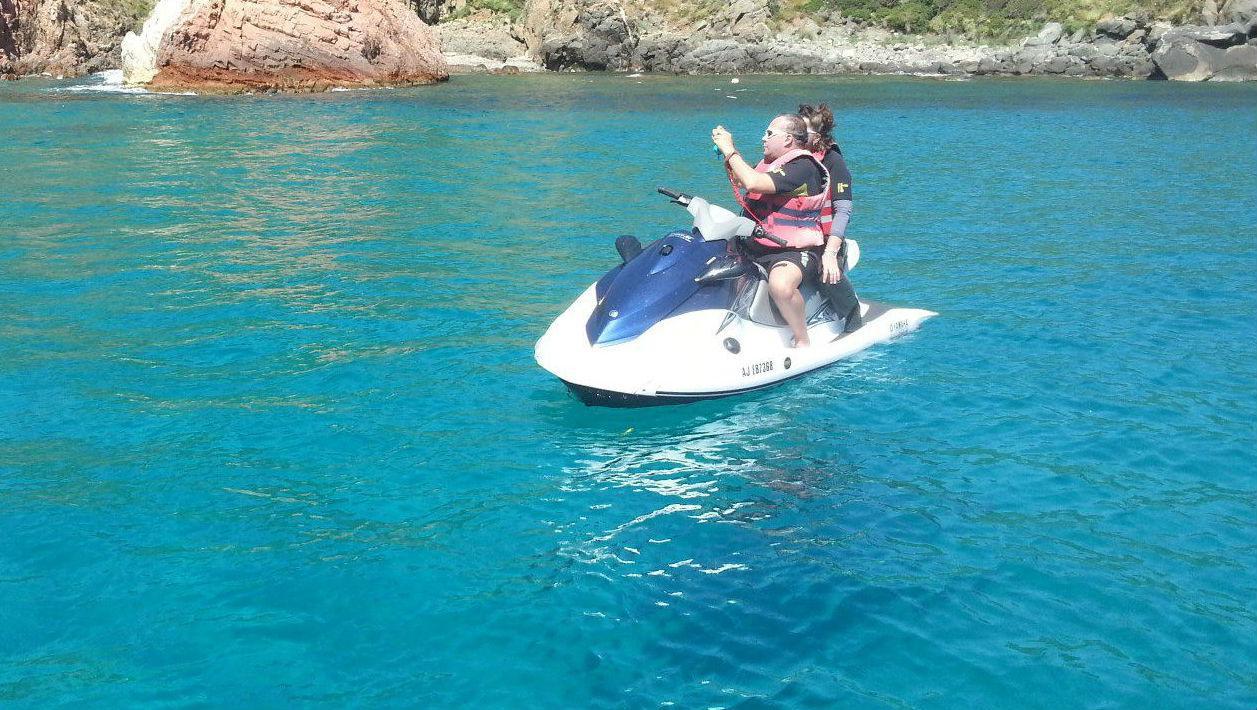 Duo Jet Ski Safari with Photos & Video in Cargèse