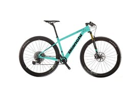 The sporti Cross Country mountain bike that you can hire with BikeIt! Bellagio & Varenna.
