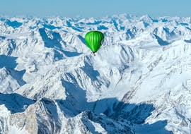 Crossing the Alps in a Hot Air Balloon