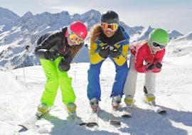 Kinder-Skikurs (ab 4 J.) für Fortgeschrittene