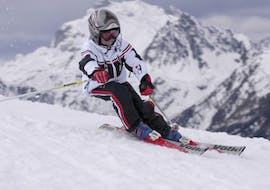 """Kids Ski Lessons """"Junior"""" (8-15 years) for Advanced Skiers"""