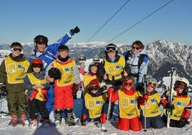 Kids Ski Lessons (5-12 y.) for Advanced Skiers