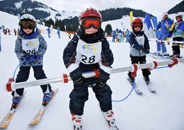 Kids Ski Lessons 'Bambini' (4-5 y.) for All Levels -Half Day with Skischule Söll Hochsöll Embacher
