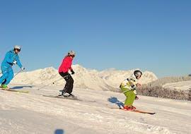 Adult Ski Lessons for Beginners with Skischule Söll Hochsöll Embacher