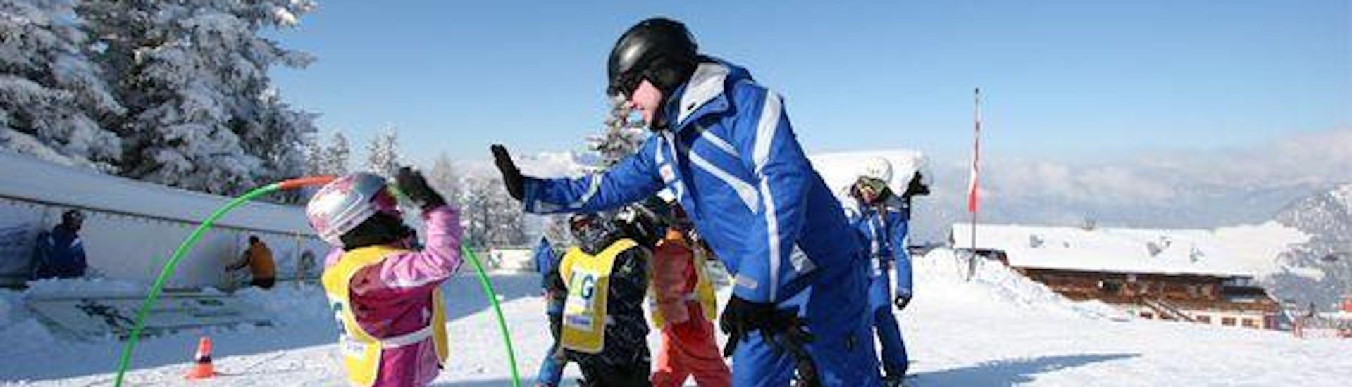 Kids Ski Lessons (5-12 years) - Beginners