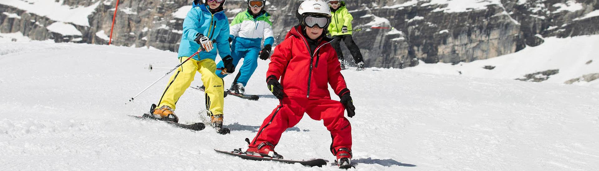 """Skiing Lessons """"Kids Compact"""" (4-7 years) - Beginners with Skischule Egon Hirt - Hero image"""