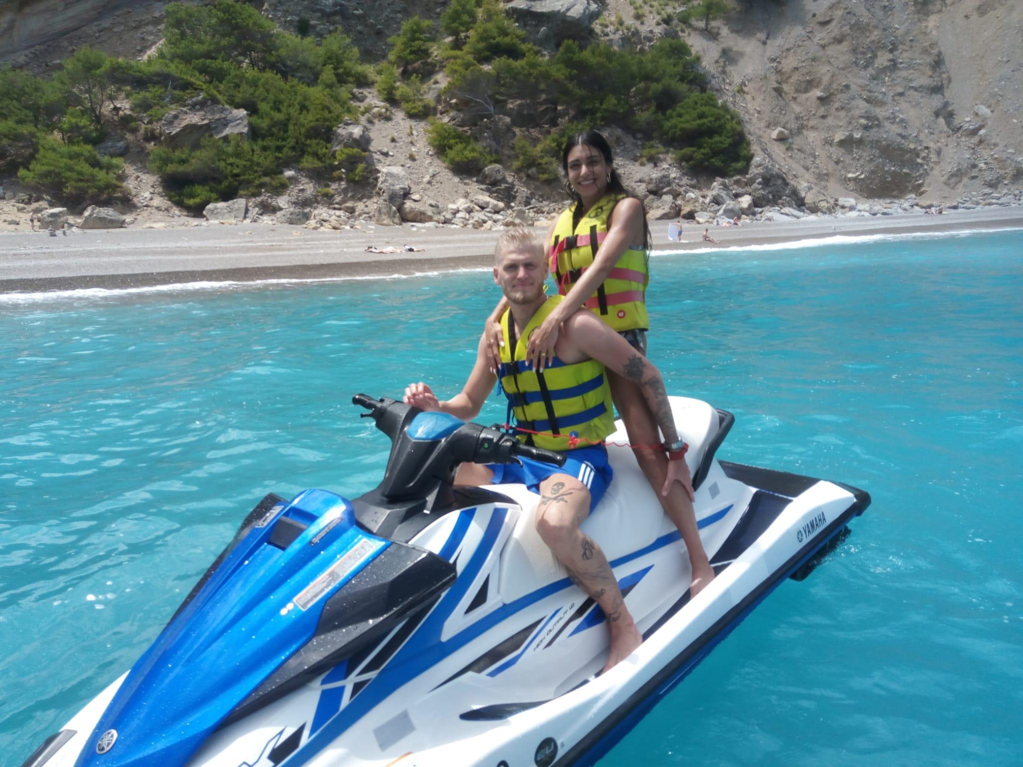 Jet Ski Safari from Alcúdia to Coll Baix Beach