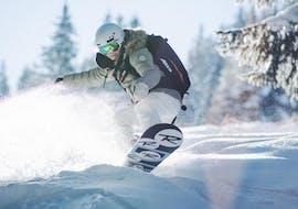 Cours particulier de snowboard - Basse saison avec ESI First Tracks Courchevel