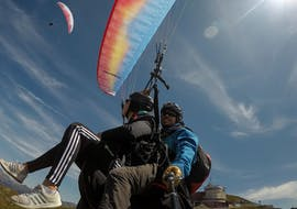 Tandem Paragliding in Davos - Panoramic Flight