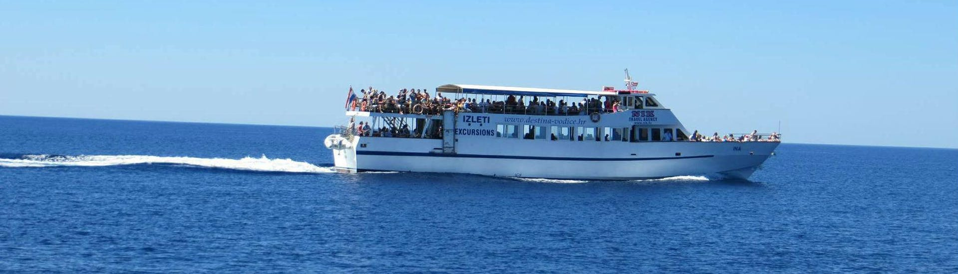 Boat Trip to Krka National Park with Destina Boat Excursions Vodice - Hero image