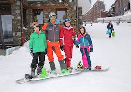 Snowboarding Lessons for Kids & Adults - February - Arc 2000