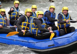 Discovery Rafting on the Haute-Isère River