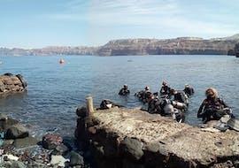 Formation de plongée (PADI) à Akrotiri pour Débutants