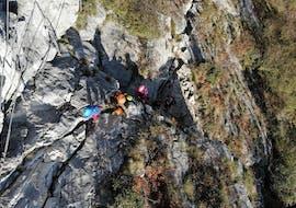 Via Ferrata on Monte Colodri