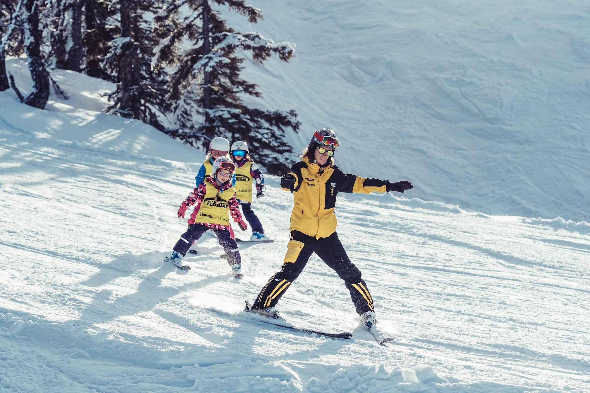 Cours de ski Enfants dès 4 ans - Avancé