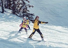 Kids Ski Lessons - Advanced